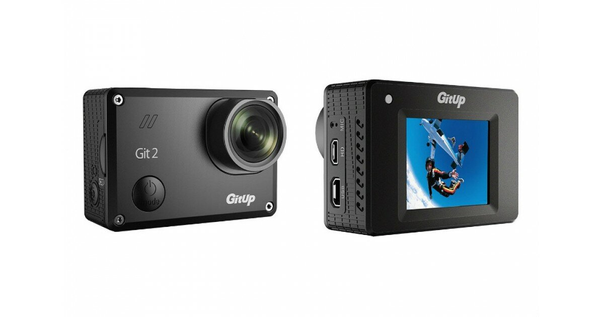 GitUp GIT2 Pro - видеокамера для активных и современных людей