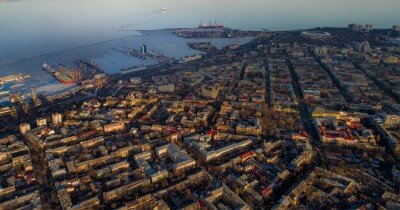 Съемка с высоты. Аэросъемка в Одессе