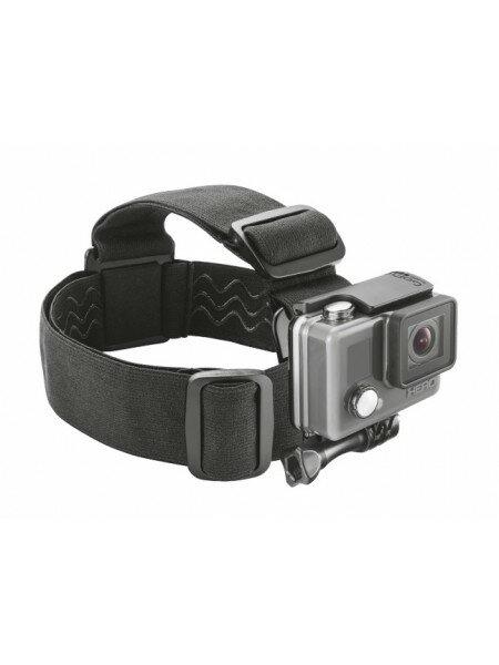 Универсальная повязка на голову для крепления экшн-камеры Trust